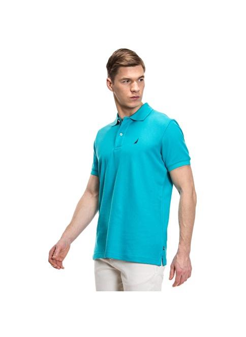 Nautica Polo Yaka Tişört Mavi